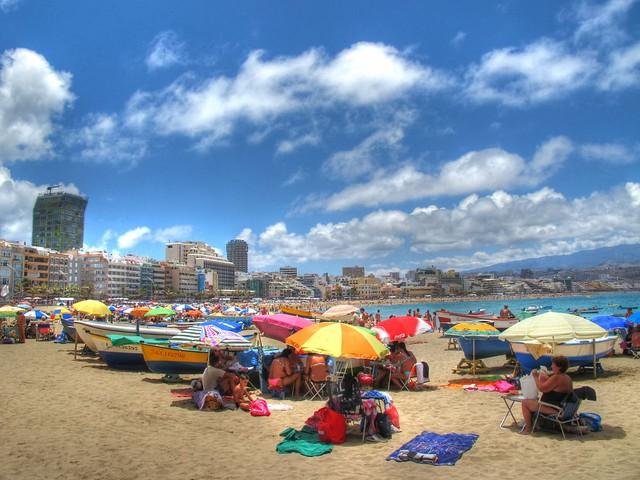Fotos de La Playa de Las Canteras - Las Palmas de Gran Canaria - Islas Canarias