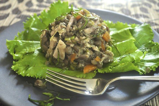 Lentil, Lemon and Tuna Salad