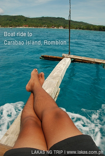 Boat Ride to Carabao Island, Romblon