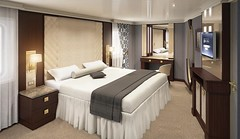 Seven Seas Navigator - Master Suite Rendering