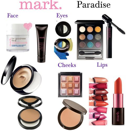 Livingaftermidnite - mark. makeup monday - Paradise