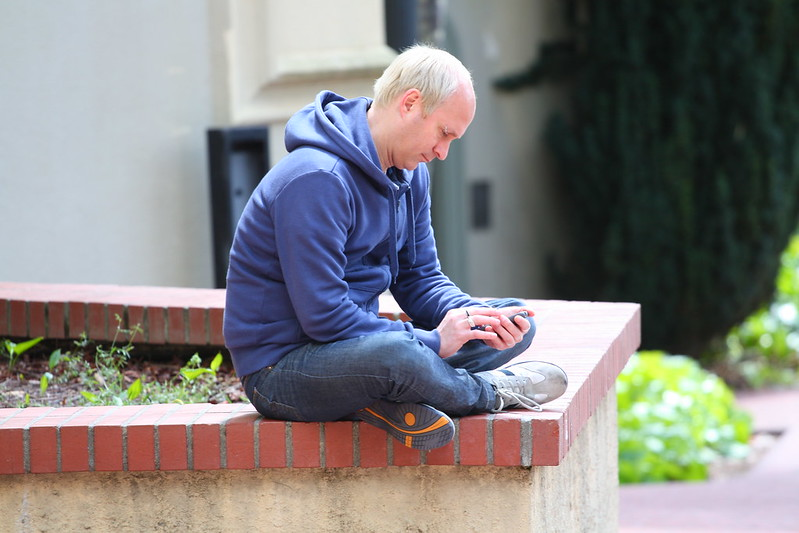 People of Berkeley - Blue Hoodie