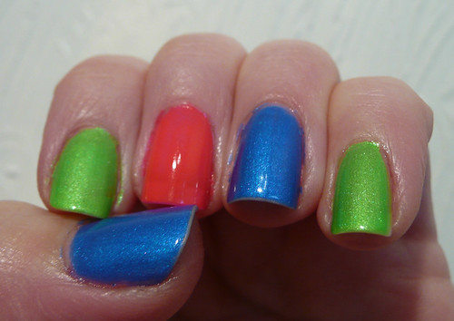 china glaze neon skittle 5