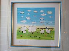 SHEEP MEADOWING by John Lennon