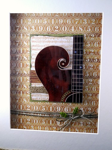 Guitar Wall Hanging (detail)