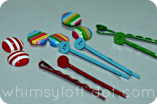 Tutorial :: Easy way to make cute HAIR CLIPS (1)