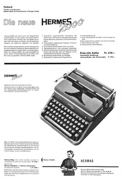 DU 1953-10 Hermes 2000