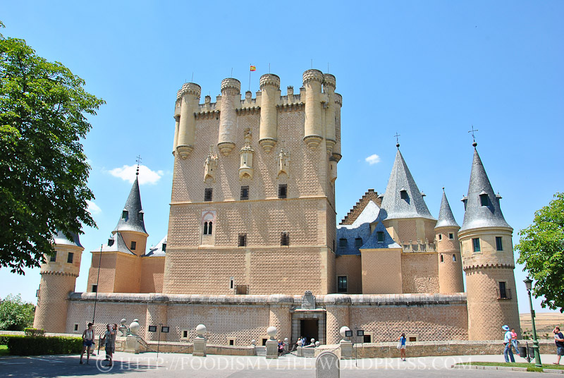 12 Entrance to Alcázar of Segovia
