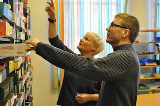 Marika Björk Carlberg och Olof Gummesson
