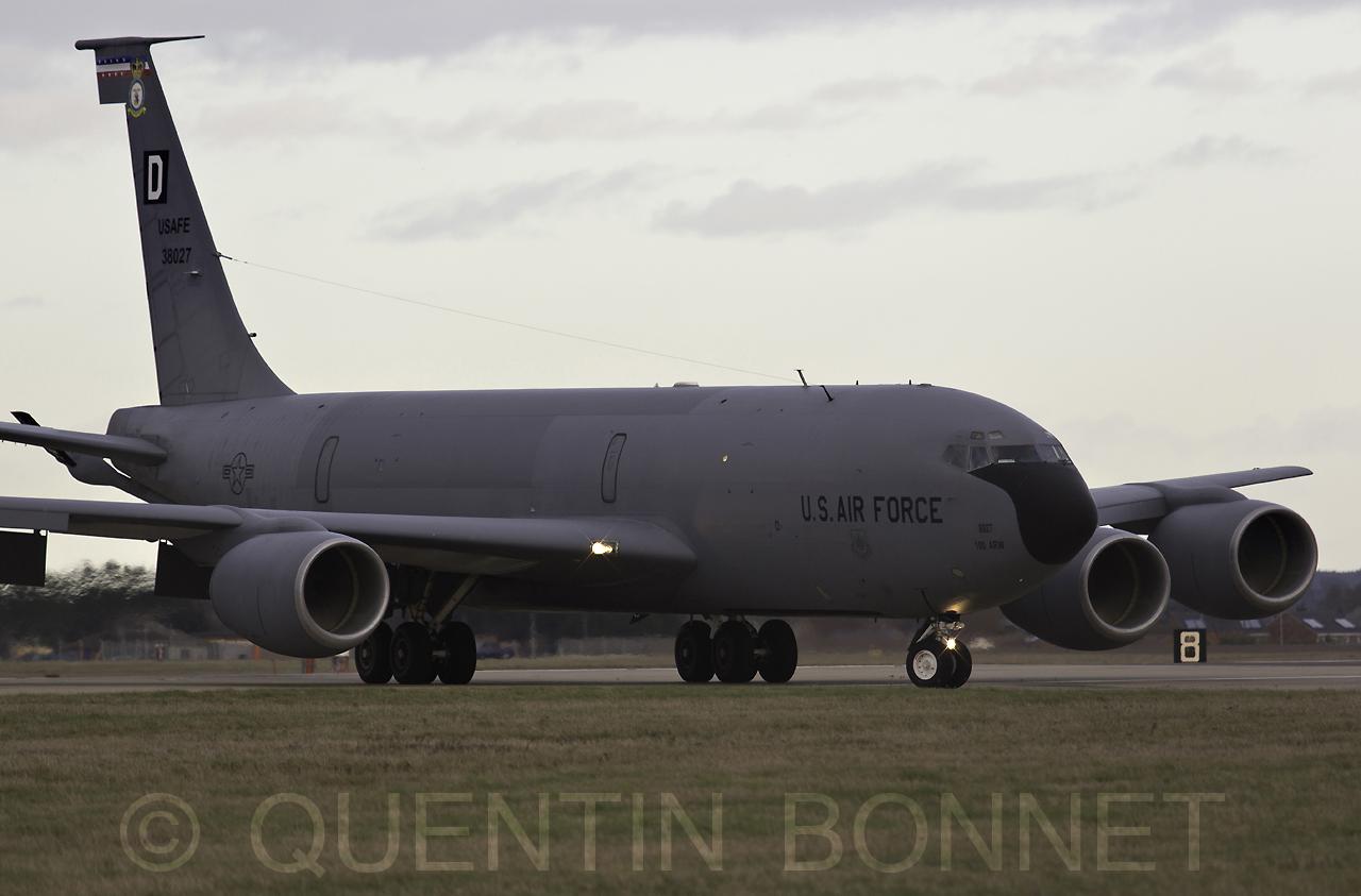 USAF Boeing KC-135R Stratotanker 38027