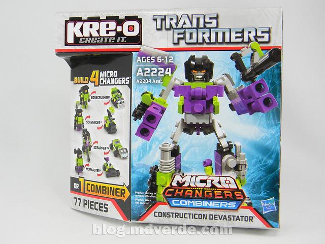 Transformers Devastator Kre-O - caja