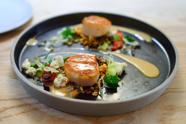DIVER SCALLOP WILD RICE, FENNEL, FETA
