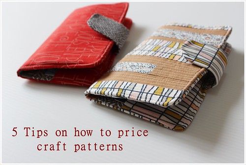 tips to price craft pattern