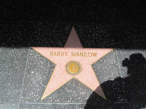 Barry Manilow's star on the walk of fame