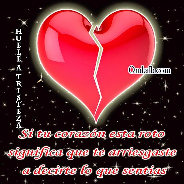 Frase De Tristeza Con Una Corazon De Amor Triste A Photo On Flickriver