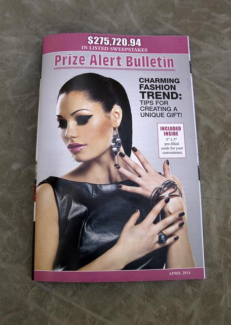 Prize Alert Bulletin