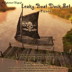 LeakyBoatDockSet Pirate