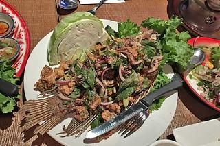 Saap Ver - Larb Fish Salad