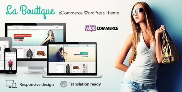 La Boutique v1.89 - Multi-purpose WooCommerce Theme