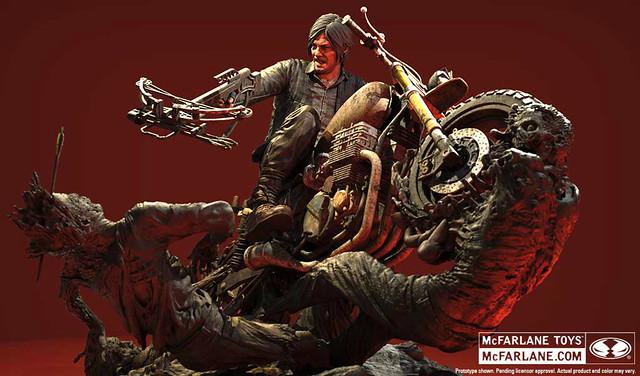 殺出血路!麥法蘭玩具推出影集版《陰屍路》戴瑞‧迪克森雕像 Daryl Dixon Statue