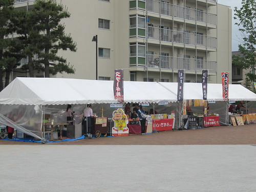 函館競馬場の屋台