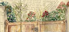 """JAPANESE ALBUM """"Balade autour de mon nouveau jardin"""" - pages 1-2-3 ©"""