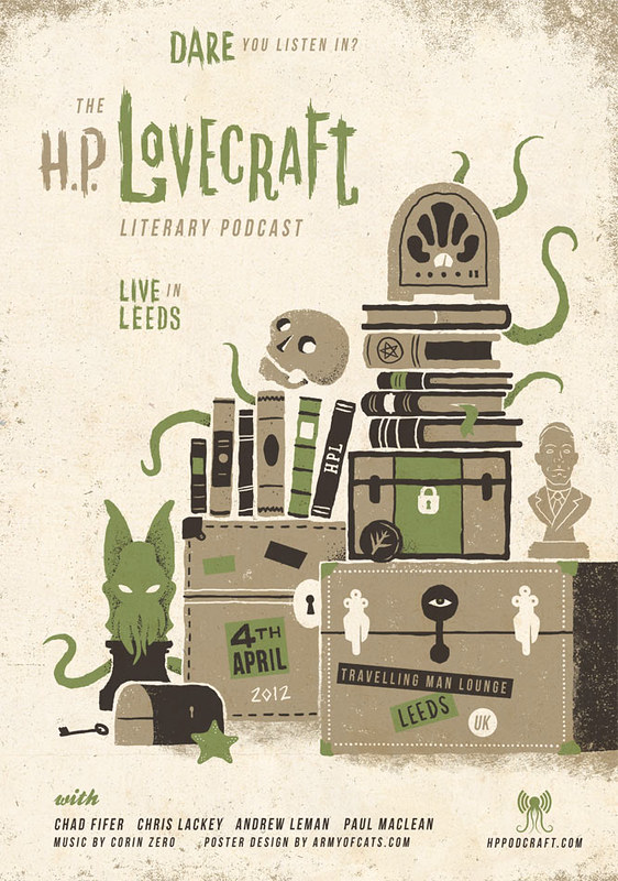 HP Lovecraft Literary Podcast poster
