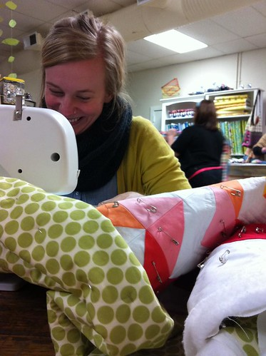 Brooke quilting
