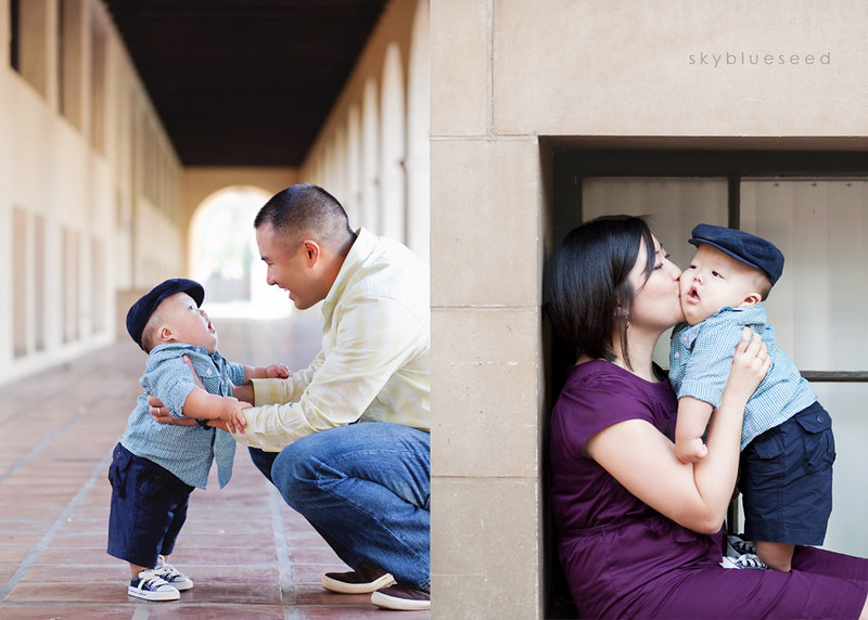 Parents with Elliot