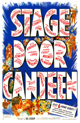 1943 ... 'Stage Door Canteen' by x-ray delta one