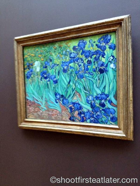The J. Paul Getty Museum- Irises by Van Gogh