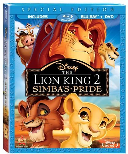 LionKing2SpecialEditionBLurayCombo