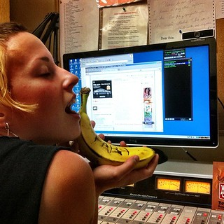 Jodi and her fart banana.