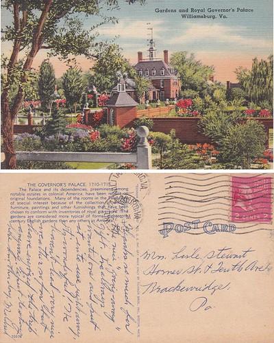 Governor's Palace - Virginia