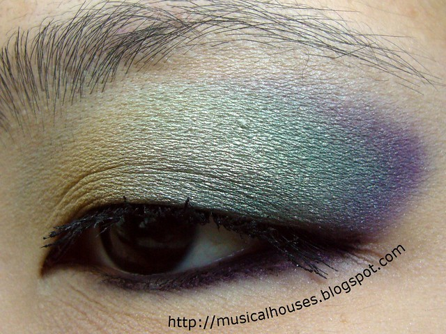 chanel peridot eye look 3
