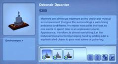Debonair Decanter