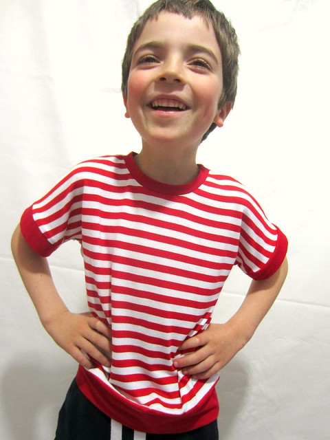 stripey dolman boy full