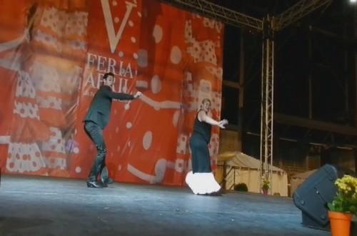 video 03 Flamenco Rehab V Feria Abril Las Palmas de Gran Canaria 2012
