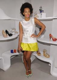 Solange Knowles Cap Toe Heels Celebrity Styling Fashion