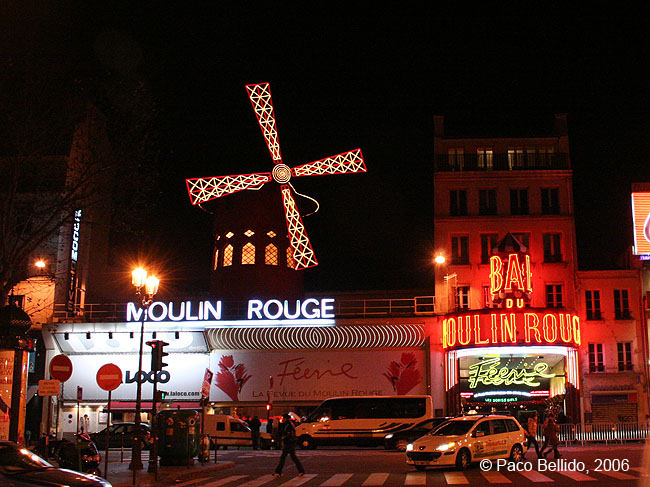 Moulin Rouge. © Paco Bellido, 2006