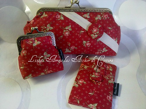 conjunto Sweet Red  by ♥Linhas Arrojadas Atelier de costura♥Sonyaxana