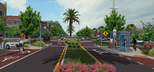 Orange Beach, AL reimagined (by: The Walkable and Livable Cities Institute)