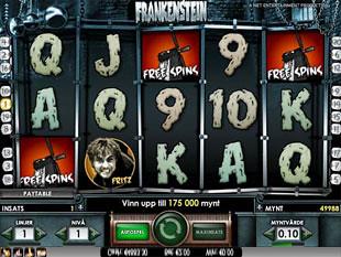 Frankenstein bonus game