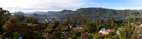 山城全景 Panorama of Nuwara Eliya