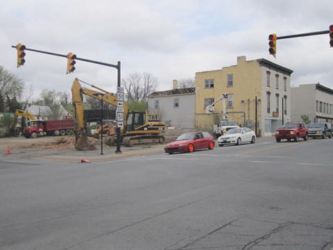 Demolition of Historic buildings in Charles Town, WV for a CVS