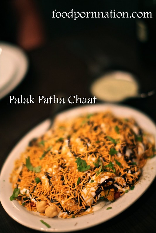 Palak Patha Chaat