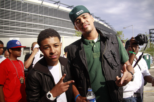 J Cole And Vanessa Simmons Dating that to Diggy Simmons