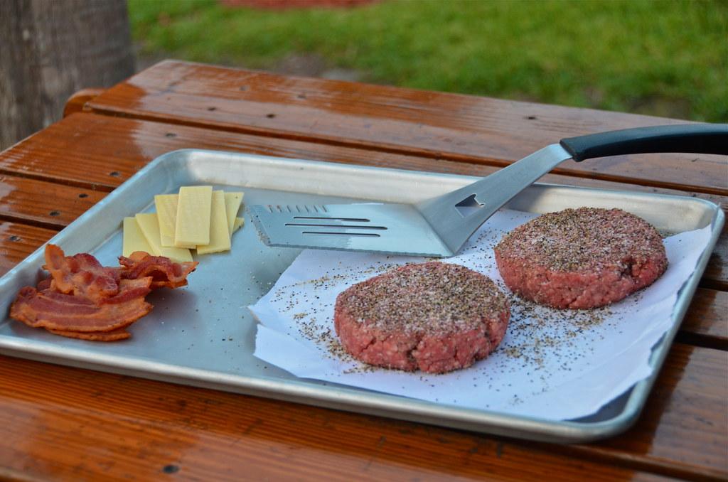 Bacon & Gruyère Burgers