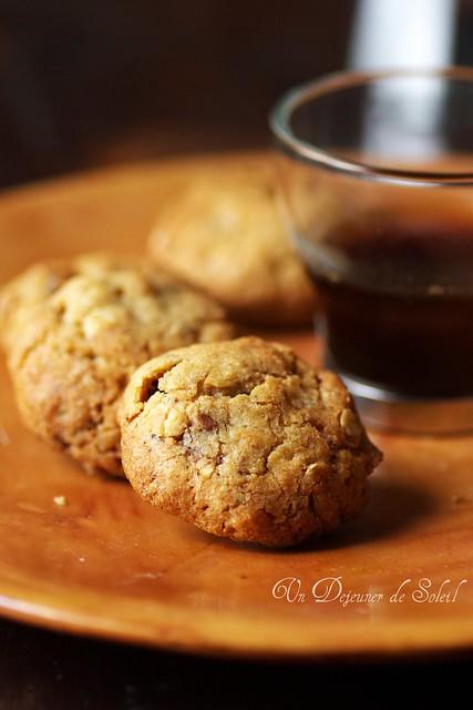 Cookies chocolat et flocons d'avoine