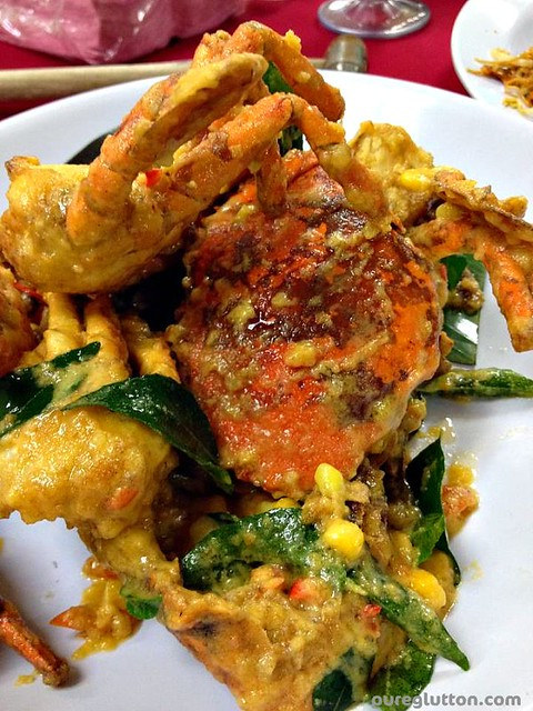 salted eggyolk corn crabs